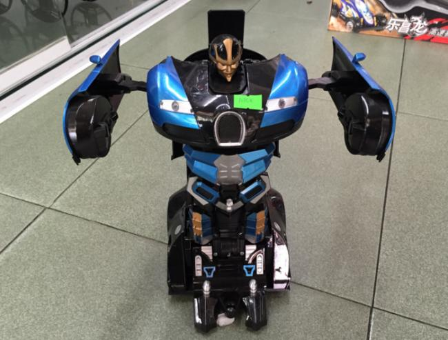 Xe Hơi Biến Hình Robot Điều Khiển Từ Xa