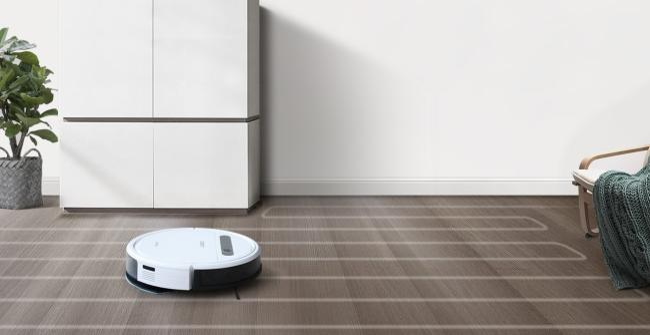 robot hút bụi lau nhà ecovas dd35
