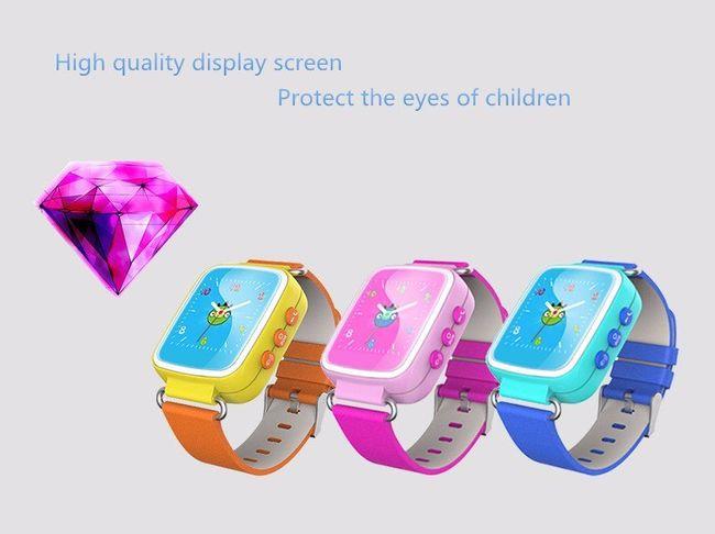 Đồng hồ gọi điện trẻ em GPS E80S N Original (có tiếng Việt) - Tặng kèm sim 4G Viettel