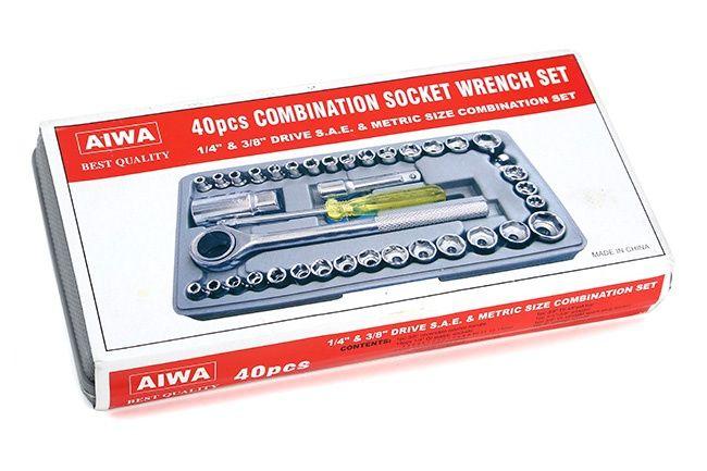 Bộ dụng cụ sửa chữa đa năng 40 chi tiết