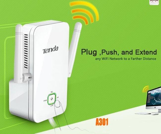 Bộ kích sóng wifi Repeater wifi TENDA A301+