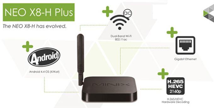 Minix Neo X8-H Plus + Air mouse KM800