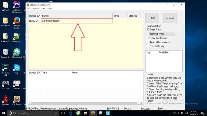 Hướng dẫn up rom (cập nhật Firmware) cho các dòng Boba X1, Boba Z1