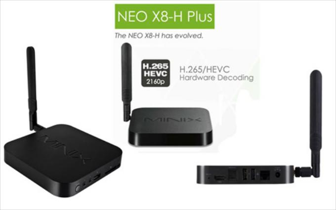 Minix Neo X8-H Plus + Air mouse KM800