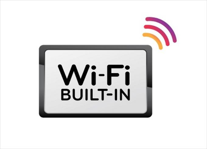 Wi-Fi Build In