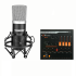Bộ thu âm Livestream PC K500 với Soundcard V11 Chân màn kẹp
