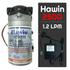 Bộ phun sương 5 đầu phun - Bơm Hawin HP 2500 lọc rác 10M dây