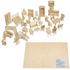 Đồ chơi ghép hình 3D bằng gỗ bộ nội thất gia đình 184 chi tiết TT4544