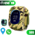 Đồng hồ định vị trẻ em Q50s GPS & LPS - Xanh rằn ri quân đội