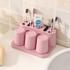 Bộ dụng cụ đựng kem đánh răng lúa mạch TH271 - Đầy đủ ly