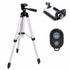 Combo 3 món chân đế chụp Tripod TF3110 kẹp điện thoại và remote bluetooth