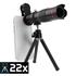 Bộ ống lens kiêm ống nhòm cho điện thoại H25 - Telephoto Zoom 22X