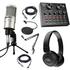 Trọn bộ thu âm cao cấp tại nhà PC K200 kết hợp Soundcard V8