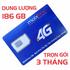 Sim 3G/4G Mobifone trọn gói 186GB trong 3 tháng giá siêu rẻ