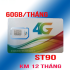 Sim 4G Viettel ST90 siêu khuyến mãi 2GB/ngày