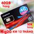 Sim 4G Vinaphone khuyến mãi 60 Gb/tháng chỉ với 50k/tháng