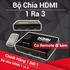 Bộ chuyển 3 cổng HDMI có remote