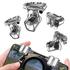 Bộ 2 Nút bấm chơi PUBG ROS  Call of duty - Dòng 4 chốt S10 kết hợp cơ và cảm ứng trên điện thoại