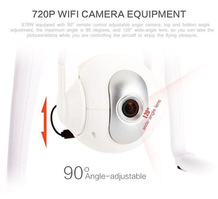 Camera của flycam S70W