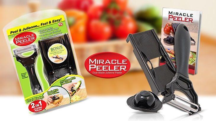 Dụng cụ bào rau củ quả miracle peeler