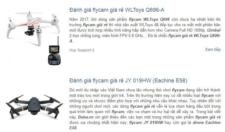 Đọc bài đánh giá flycam là một bước không thể bỏ qua