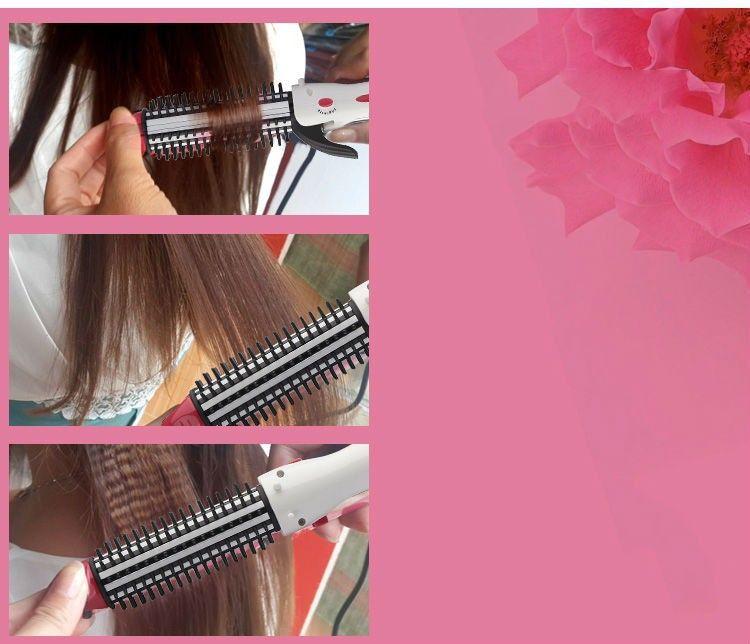 Máy kẹp tóc uốn duỗi bấm Nova 8890 - 2 trong 1