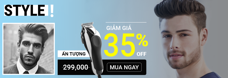 Tông đơ cắt tóc giá rẻ chính hãng tại TP HCM với nhiều ưu đãi