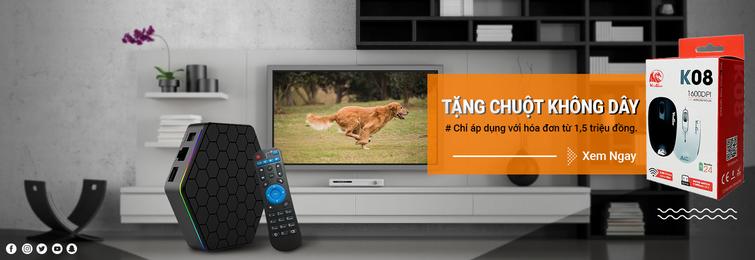 Mua Android TV Box chính hãng với nhiều khuyến mãi đặc biệt tại TP HCM