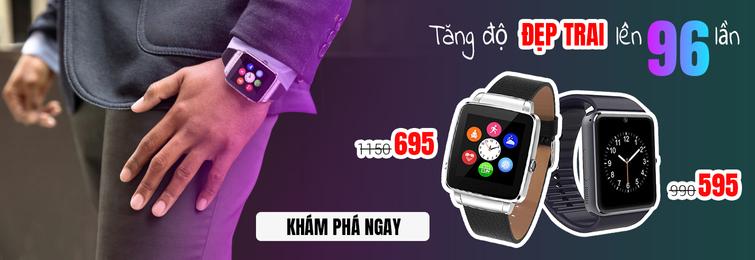 Đồng hồ thông minh Smartwatch siêu ưu đãi về giá tại Boba Shop