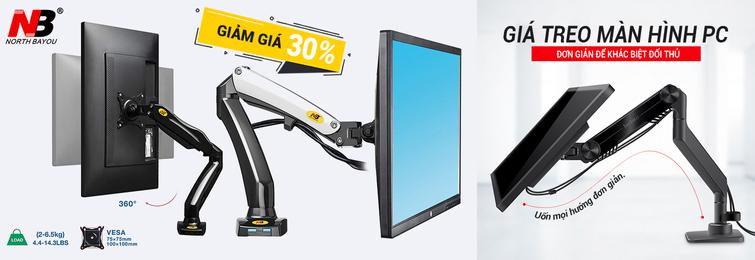 Giá treo màn hình PC Tivi chính hãng giá rẻ tại TP HCM với nhiều ưu đãi