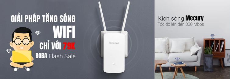 Bộ kích sóng wifi giá rẻ chính hãng tại TP HCM