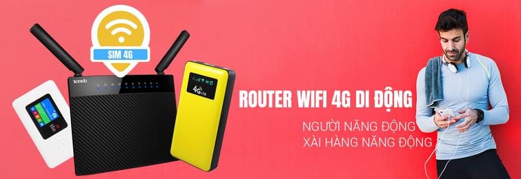 Bộ phát wifi di động 4G giá rẻ tại TP HCM
