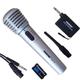 Micro không dây karaoke Shure MA210 - 2 IN 1 không dây và có dây