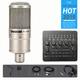 Bộ livestream Micro PC K200 phối Soundcard V10 HD2000 phụ kiện chân màn kẹp