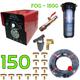 Lắp đặt bộ phun sương 150 béc - Kojin Tex 150G cốc lọc rác 150M dây