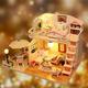 Mô hình lắp ráp nhà gác mái bằng gỗ cho bé TT5501