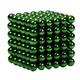 Bộ nam châm xếp hình bucky balls 5mm 216 viên màu xanh lá cây