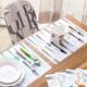Miếng lót bàn ăn bằng nhựa 28x40cm M5
