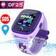 Đồng hồ giám sát định vị trẻ em DF25 - Hỗ trợ chống nước Full