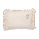 Gối bọc viền nhúng vải bông hữu cơ simba (Organic)