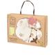 Hộp quà tặng đồ sơ sinh vải bông hữu cơ Organic simba
