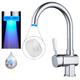 Vòi nước rửa bát có đèn led T9 - sử dụng cho bồn bếp