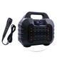 Loa xách tay Bluetooth hát karaoke HY 05 - Tặng kèm 1 mic dây