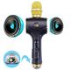 Mic hát karaoke cao cấp TX M10 Đèn Led 2 loa kép