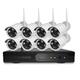 Bộ Camera không dây NVR 8 camera HD 960p 1.3mpx