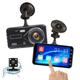 Camera hành trình xe hơi V10 màn hình cảm ứng 3.2 inch - Có camera lùi