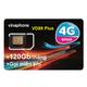 Sim 4G Vinaphone VD89Plus khuyến mãi 120Gb/tháng