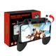 Bộ gamepad tay kẹp giữ điện thoại liền nút bắn W10 ROS Freefire  call of duty Controller