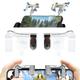 Nút chơi PUBG Mobile ROS thế hệ mới - L3R3 K01 kim loại bộ đơn 2 ngàm bắn