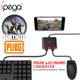Bộ chuyển tín hiệu iPega 9096 chơi PUBG Rule OF Survival Free Fire bằng chuột